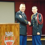 Cdt Hickman with CSM Waterhouse