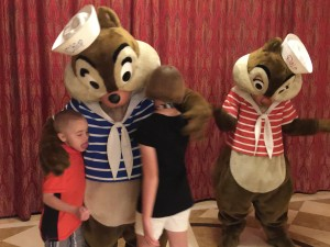 Nick Disney Cruise Chip and Dale