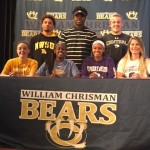 Chrisman signing photo
