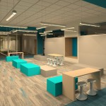 New ISD elementary collaboration space