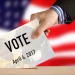 Vote April 4 Graphic