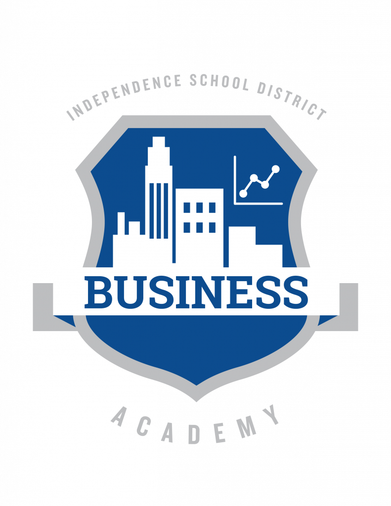 The Independence School District Business Academy logo