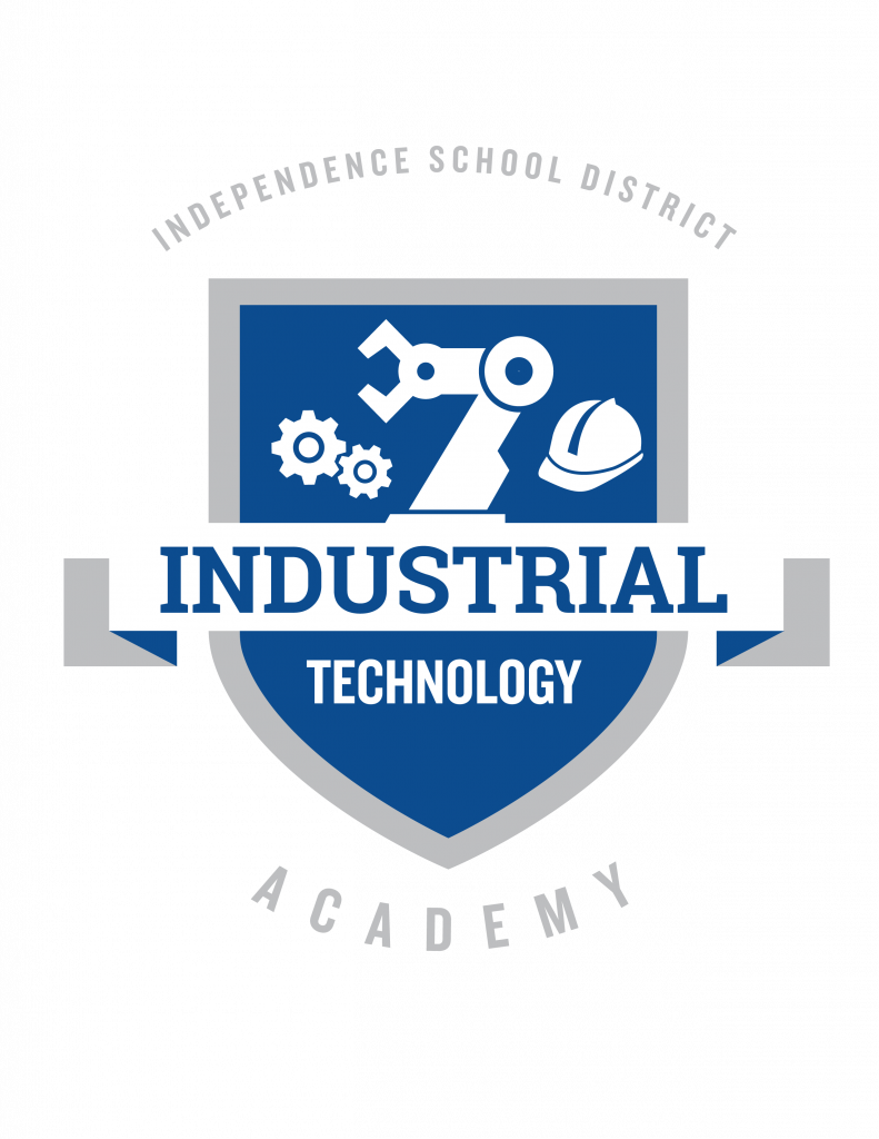 The Industrial Technology Academy logo for the ISD Academies.